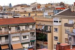 A view of Barcelona (Yuri Rapoport) Tags: torreagbar casafuster domenechimontaner 2013 barcelona catalonia spain