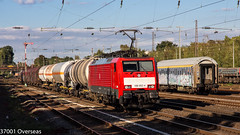 DB 189 052 on EZ 45719 at Dsseldorf Rath (37001 overseas) Tags: db dbcargo 189052 1890524 kijfhoek gremberg ez45719 ez 45719 dsseldorfrath