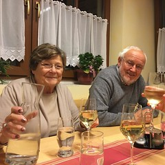 Ingrid and Fritz took us #wine tasting at their favorite #heuriger