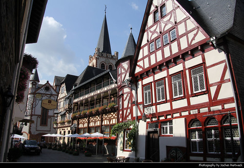 Timberframes, Bacharach, Germany