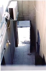 weiß //// (souge_) Tags: architecture tel aviv yard light allwhite travel analog film filmisnotdead 35mm nikon