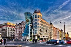 the Dancing House in Prague (kadofr) Tags: prague dancing house