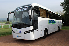 Ridleys, Leamington FJ07 VKK, Volvo B12B in Cheltenham (majorcatransport) Tags: warwickshirebuses ridleysleamington volvo cheltenham jonckheere volvob12