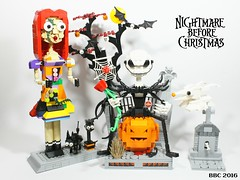 Nightmare before christmas (bbchai) Tags: lego nightmare before christmas jack skellington sally zero black cat box halloween pumpkin king