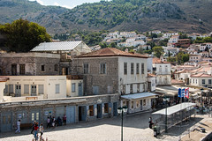 Hydra - Portside (Le Monde1) Tags: greece island hydra port coast monastery greek lemonde1 nikon d800e saronicislands aegean sea town portside harbourside shops restaurants