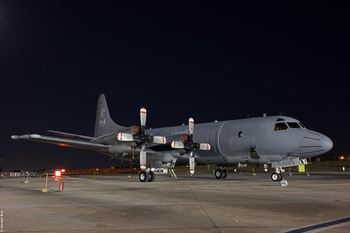 Lockheed CP-140 Aurora RCAF 140105 on the platform during the Malta International Airshow 2015
