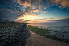 Sunset - North sea (Sascha Gebhardt Photography) Tags: nikon nikkor d800 1424mm haida lightroom photoshop fototour fx nordsee ozean ocean sky travel roadtrip reise reisen