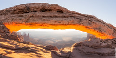 Crowded Arch (Jake Rogers Photo) Tags: mesaarch mesa arch canyonlands canyonlandsnationalpark utah sunrise glow sandstone panorama pano nationalpark landscape nature