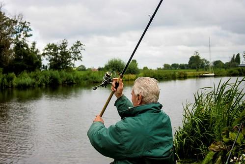 Als ze me missen, ben ik vissen (42)