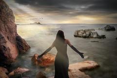 ... ensoacin ... (franma65) Tags: calallevad costabrava girona mar mediterraneo cala luz paisaje