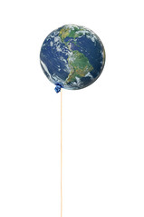 untitled (brescia, italy) (bloodybee) Tags: 365project earth planet globe balloon stilllife humor fun world blue white