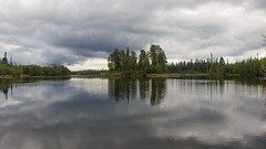 between clouds (Sergey S Ponomarev) Tags: sergeyponomarev canon 70d eos ef24105f40l nature natura russia north nord trip travel 2016 adventure rafting taiga forest reflections eternity paysage paesaggio kola karjala august agosto riflessi