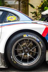 Z4 GTLM (GmanViz) Tags: gmanviz color car automobile detail nikon d7000 2014 bmw z4 gtlm racecar wheel tire fender stripes roof decals