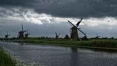 Moulins de Kinderdijk - Pays Bas (Vaxjo) Tags: kinderdijk moulin windmill paysbas netherland niederland