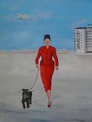 Miss Lady Mitzi (nicholas marsh) Tags: nicholasmarsh painter brighton robertcapa lady mitzi sussex oilpainting worldwide schnauzer society6com famous celebrity