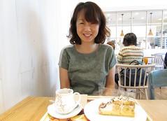 Tea and cake time! 5986 (Tangled Bank) Tags: japan japanese asia asian people kyoto tea cake coffee shop