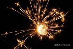 Week 45-2016 (mpw1421) Tags: nikon d60 522016edition 522016 wk4552 fire sparkler blackbackground light golden sparks unlimitedphotos theamateursgroup