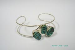 Bracelet (Mauro Cateb) Tags: scarab silver bracelet jewelry
