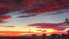 Red Dusk (splinx1) Tags: canonart editedphotograph wiredout hss canonpowershopelph330hs california photomatixpro hdr wallpaper dusk twilight