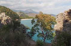 Mount Tahtali from Genovese Castle (s_wh) Tags: cirali trkei lykien olympos baraka house turkey lycia chimera
