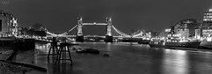 London (valero28) Tags: londres london longexposure largaexposición nightscape noche landscape paisaje torres towers blancoynegro blackandwhite sergiovalero nikon d750 2470 f 28