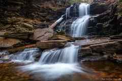 Ricketts Glen Waterfall (RyanKirschnerImages) Tags: waterfall rickettsglen nature cascade landscape