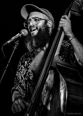 Hillbilly Stomp... (jayem.visuals) Tags: bass blackwhite blackandwhite bluegrass concert doublebass livemusic male men music musician people portrait uprightbass jayemvisuals juergenmaeurer