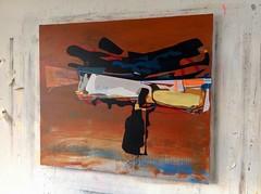Jim Harris: Orbital. (Jim Harris: Artist.) Tags: art painting weltraum space cosmos arte konst malerei japan geometric kunst abstrakt jim harris
