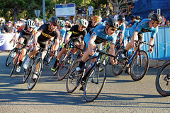 Game face on (Pat Charles) Tags: bike bicycle race road team compete competition achieve strive determined eyeofthetiger win try triathlon noosa multi sport festival queensland australia nikon racing turning uturn corner cornering cycle racer racers helmet outdoor outside