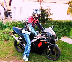aprilia (driver Photographer) Tags:   aprilia cagiva honda kawasaki husqvarna ktm simson suzuki yamaha ducati daytona buell motoguzzi triumph bmv driver motorcycle leathers dainese