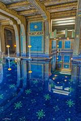 Roman Pool I (59roadking - Jim Johnston) Tags: ifttt 500px hearst castle california travel san simeon mansion pool wealth blue