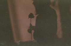 (snowlands) Tags: self portrait film 35mm expired shadows flowers