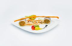 Pesce Spatola alla Beccafico e Crema di Legumi (lacookagency) Tags: photoshoot still life chef food dish white restaurant styling squid sicily background lacookagency gourmetidentity foodstyle