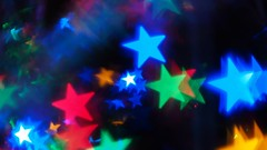 Dancing Stars - Angels or Demons? (fstop186) Tags: stars dancing video moving red blue green gold yellow christmas lights shining twinkling flashing angels demons flying space outerspace surreal abstract