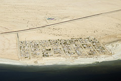 Aerial view of Bombay Beach, Salton Sea, Imperial County, California (cocoi_m) Tags: aerialphotograph bombaybeach aerial nature saltonsea imperialcounty california imperialvalley dry shoreline sanandreasfault vegetationlineament saltonseastaterecreationarea geology geomorphology coachellavalley coloradodesert wow