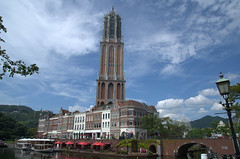 Domtoren Utrecht in Huis ten Bosch Japan
