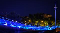 Puente de luz (Ivan_Fle) Tags: night noche photo spain flickr sony valladolid 1855 alpha lightroom nex emount sonynexf3 ivanfle