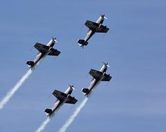 The Blades (Bernie Condon) Tags: team formation airshow rafa shoreham aerobatic dsiplay theblades