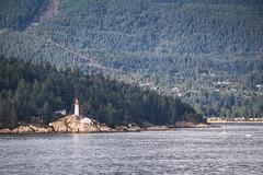 Lighthouse (kimbar/Thanks for 2.5 million views!) Tags: trees lighthouse canada boat rocks vancouverisland