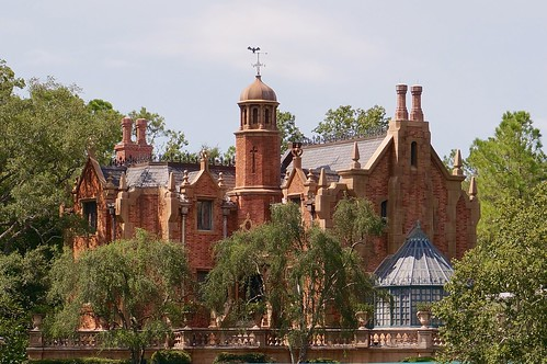 Haunted Mansion at Magic Kingdom Park in Walt Disney World Resort