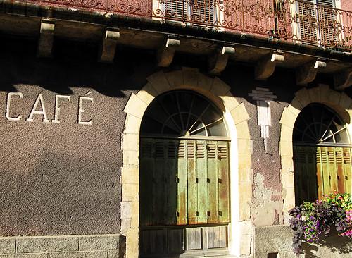 Café [Villefranche-du Périgord, France]