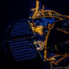 _4LN1477 : Le Moulin Bleu (Brestitude) Tags: city night port marina harbor brittany bretagne aerial breizh brest nuit ville finistere aérien rade moulinblanc brestitude ©laurentnevo