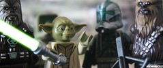 ORDER 66 (JediBricks) Tags: trooper star starwars order yoda lego chief iii 66 wars episode chewbacca kashyyyk tarful