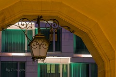 Urban illumination (Grzesiek.) Tags: architecture illumination wroclaw wrocaw architektura owietlenie dzielnicaczterechwiaty dzielnica4wiaty