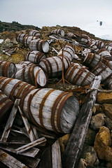 Whale Oil Barrels: Human Waste from the turn of the 19th century, Port Foyn, Antarctica 2006