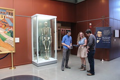 Museum-going with Erin and Rob! (ironypoisoning) Tags: friends washingtondc steve museums nationalmuseumofhealthandmedicine