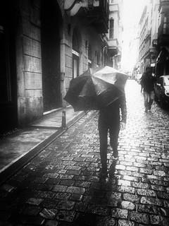 a hard rain ...