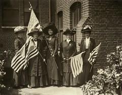 American suffragists, 1910