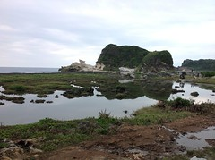 Kapurpurawan Rock Formation (Janice Tepes | PH) Tags: travel trees horse nature beautiful photography haze natural cloudy philippines wanderlust burgos wandering wander wanderer pagudpud ilocosnorte travelphotography pagudpudilocosnorte kapurpurawanrockformation pagudpudilocosregion yahoo:yourpictures=landscape itsmorefuninthephilippines pwgen pwpartlycloudy