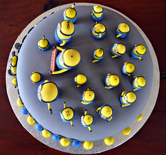 Minions - my wife's creation (Makro1) Tags: blue food yellow cake nikon birthdaycake torta minions cakedecoration hrana kolac ukrasi d7000 nikon18105mmf3556vr nikond7000 rodjendanskatorta